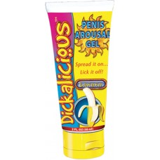 Dickalicious Penis Arousal Cream (Open Stock Tube - Banana)