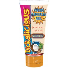 Dickalicious Penis Arousal Cream (Open Stock Tube - Pina Colada)