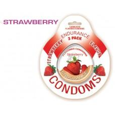 Endurance Condoms - Strawberry