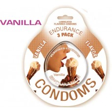 Endurance Condoms - Vanilla