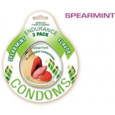 Endurance Condoms - Spearmint