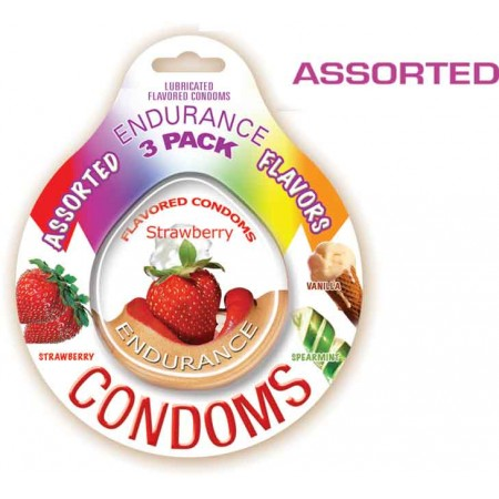 Endurance Condoms - Assorted
