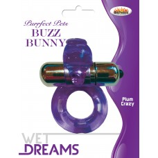Buzz Bunny Cock Ring  (Purfect Pets Series purple)