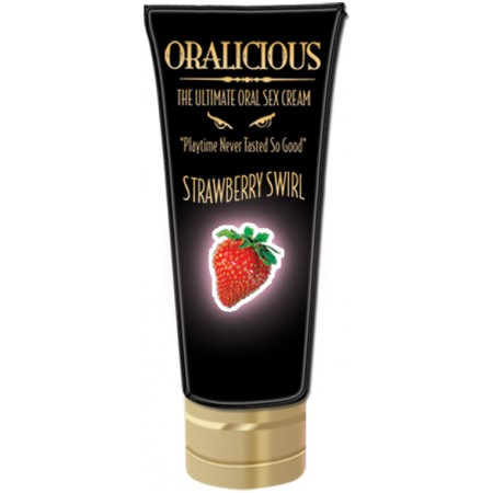 Oralicious Oral Sex Cream (Open Stock - Strawberry Swirl)