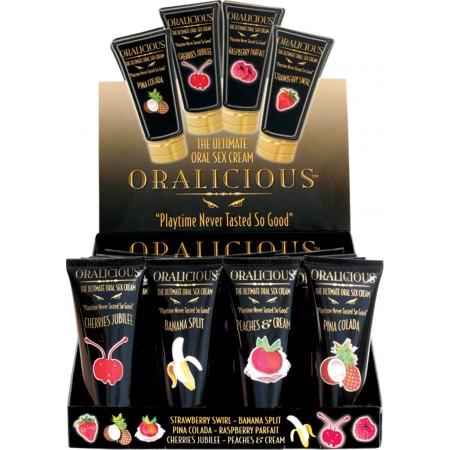 Oralicious Flavored Oral Sex Cream (24pc Display)