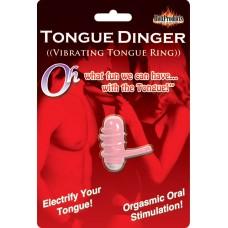 Tongue Dinger - Vibrating Tongue Ring (magenta)