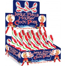 Jingle Balls Holiday Cock Pops (display)