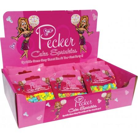 Pecker Cake Sprinkles (Display)