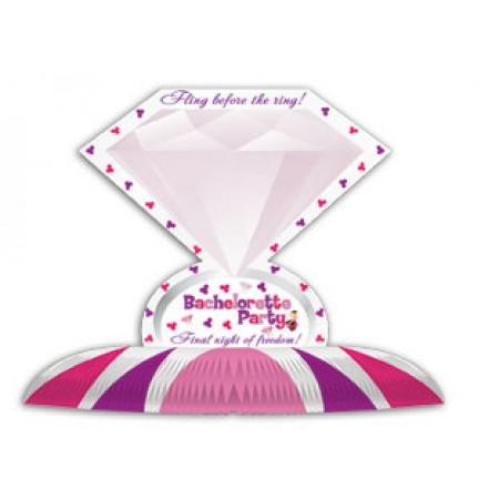 Bachelorette Party Diamond Table Centerpiece