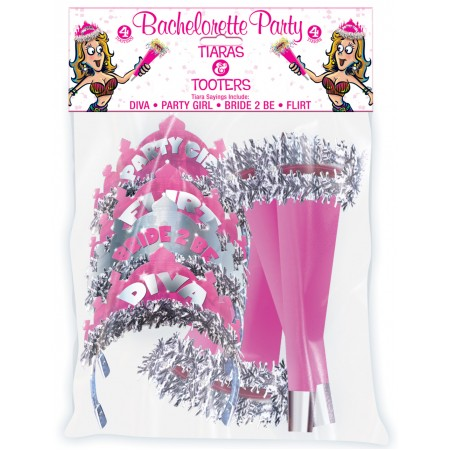 Bachelorette Party Tiaras & Tooters Pack