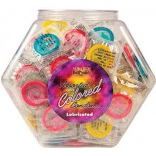 Colored Condoms - Assorted Bowl
