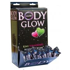 Body Glow  Massage Cream Display