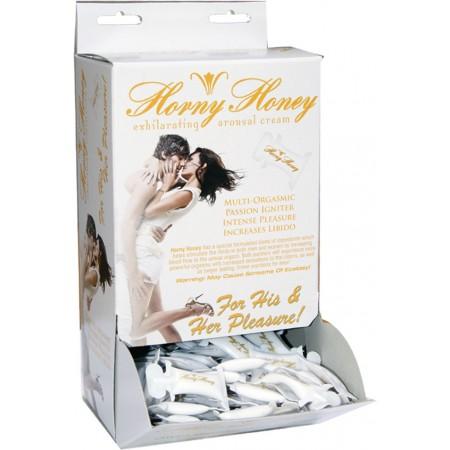 Horny Honey Arousal Cream (144pc Pillows Display)