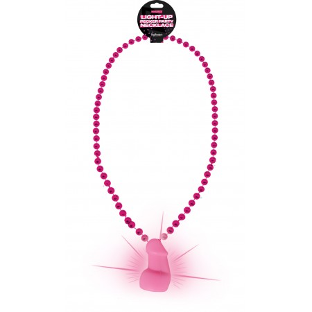 Bachelorette LIGHT UP Party Pecker Necklace