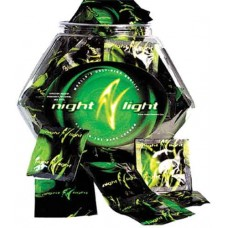Night Light Glowing Condoms - Assorted Bowl