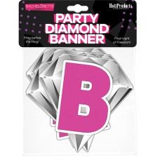Bachelorette Party Diamond Banner