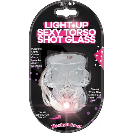 Sexy Torso Shot Glass LIGHT UP