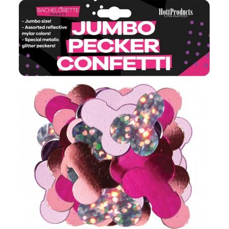 Bachelorette Party JUMBO Pecker Confetti