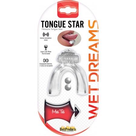 Tongue Star - Pleasure Tongue Vibe (clear)