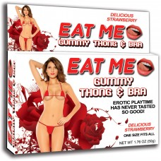 Eat Me Gummy Thong & Bra