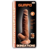 "Guapo 9"" Suction Cup Dildo (Latin)"