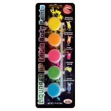 Liquored Up Edible Body Paints