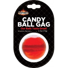Candy Ball Gag (strawberry)