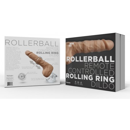 Rollerball Remote Controlled Rolling Dildo