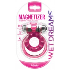 Magnetizer Cock Ring - Wet Dreams (pink)