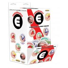 Endurance Lubricated Flavored Condoms Display