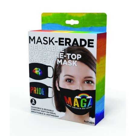MASK-ERADE Reusable Safety Mask Pride