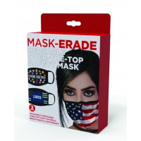 MASK-ERADE Reusable Safety Mask Flag