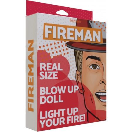 Fireman Inflatable Doll