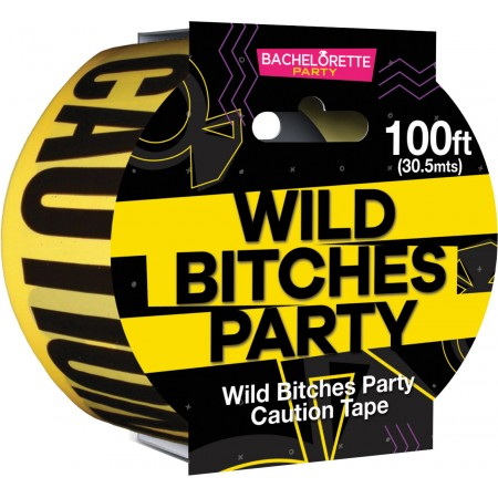 Wild Bitches Party Caution Tape